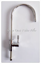 Luxury Kitchen Drinking Water Goose Faucet (Polished Chrome)