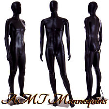 Male mannequin 6FT, Halloween display manquin, plastic black manikin-MC-2B
