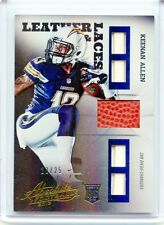 2013 ABSOLUTE CARD NO.17 KEENAN ALLEN BALLS & LACES ROOKIE RC #23/25, CHARGERS