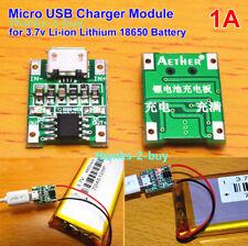 5 V 1 A MICRO USB 1 S 3.7 V Li-ion LITIO LIPO 18650 Caricabatterie Di Ricarica Board