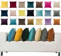"""16/"""" 18/"""" 20/"""" 22/"""" Large Linen Plain Cushion Cover Pillow Case Home Sofa Decor d"""