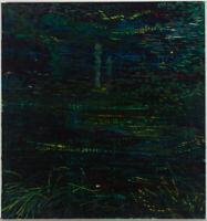 John Cherrington (1931-2015) - 1976 Oil, Foliate Abstraction III