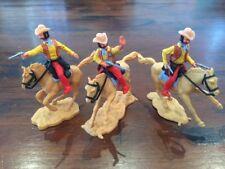 "Timpo Mounted Cowboys - ""Shotgun"" Sheriff + Posse - Wild West - 1970's"
