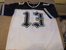 XL Victorious white and black #13 mesh Chicano, Urban, Low Rider jersey.