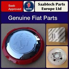 GENUINE FIAT 500 ABARTH ALLOY WHEEL CENTRE CAP/EMBLEM NEW 51895377