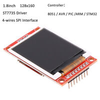 1.8inch 128x160 TFT SPI LCD Display Module 8051 AVR PIC ARM STM32 ST7735 Driver
