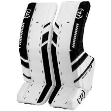 New Warrior Ritual G3 int 32+1 Ice Hockey Goalie leg pads intermediate white/blk