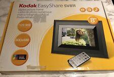 "Kodak EasyShare SV811 8"" Digital Picture Frame With Remote Control NIB"
