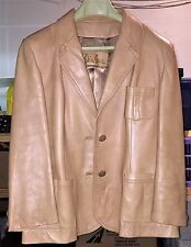 SKIN GEAR WOMEN'S SOFT LEATHER BLAZER JACKET SIZE M