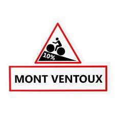 Tour de France Mont Ventoux replica escudo señal de tráfico bicicleta ciclismo pizarra