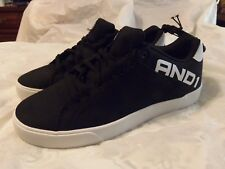 NWT - Men's And1 Fundamental Low Top Black White Athletic Shoes SIZE - 10