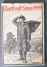 Kalender Kunst und Leben 1919