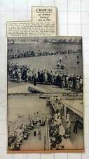 1949 Crowd Hockey Festival, Manor Ground, Worthing Easter, Surbiton Strollers