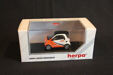 "Herpa Smart City Coupé 1:43 White / Orange ""TNT"" (JS)"