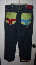 36 x 34 Coogi Authentic Australian Levi Denim Jeans Pants Since 1969 Hip Hop