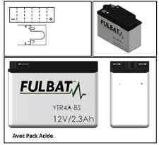 Pack Batterie Moto Avec Acide 12V 2.3Ah Garantie 1An HONDA SFX 50 Sport 96-00