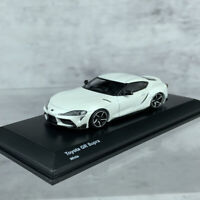 Kyosho 1:64 Scale Toyota GR Supra A90 White Sports Car Model Diecast New in Box