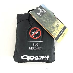Outdoor Research Bug Headnet Insect Protection Pocket Black One Size