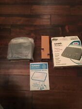Vintage Phone Casio Mate PhoneMate 3700 Telephone Answering Machine In Box