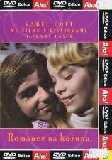 Romance za korunu 1975 Czech drama DVD Karel Gott Karel Svoboda