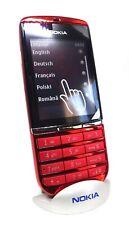 Nokia Asha 300 Red Swap Original Unlcoked