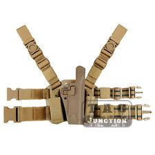 Nivel 2 Serpa el muslo mano derecha pistola arma Funda Para Colt 1911 M1911