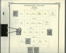 SCOTT SPECIALTY Pages for NETHERLANDS ANTILLES (Curacao)...1873-1997...106 Pages