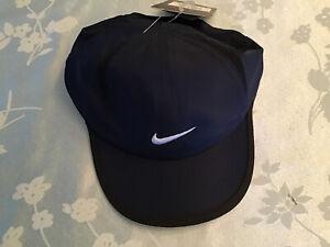 Nike Infant Feather Light Baseball Hat Cap Navy Blue Sz: 12-24 mos. Dri-Fit NWT