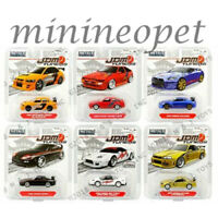 JADA JDM TUNERS 14036 WAVE 5 ASSORTMENT NISSAN MITSUBISHI TOYOTA 1/64 SET OF 6