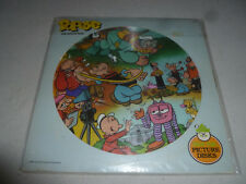 Vintage Popeye The Sailor Man Picture Disc Record Peter Pan 1982 King Features