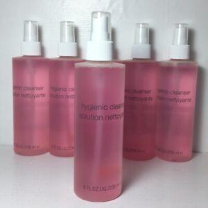 Lot 5 X Clinique Hygienic Cleaner Spray 8 FL.OZ each Cleanser Applicators Brush