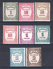 "FRANCE STAMP TAXE 55 / 62 "" SERIE 8 TIMBRES "" NEUFS xx TTB   P451"