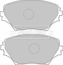 Brake Pads Set fits TOYOTA RAV-4 ACA2 2.0 Front 00 to 05 1AZ-FE B/&B 04465YZZCS
