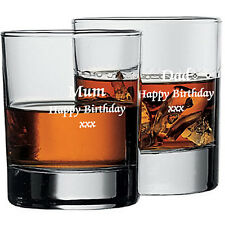 WHISKY GLASS ENGRAVED WITH YOUR WORDS