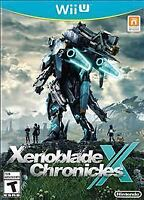 XENOBLADE CHRONICLES X * NINTENDO Wii U * BRAND NEW FACTORY SEALED!