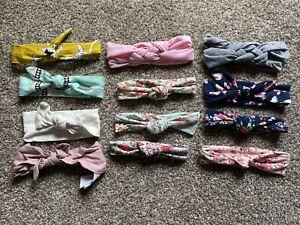Lot of baby girl toddler girl headbands