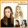 2/5PCS Bohemian Easy-Wear Hairbands- Twist Braided Hair Headband Wig Fishtail UK