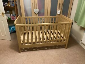 Mamas and Papas Nursery Furniture Set, Cot Bed, Wardrobe and Changing Table