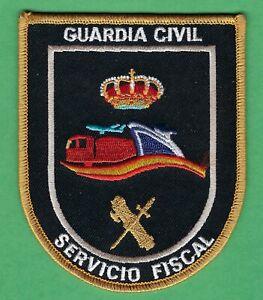 SPAIN GUARDIA CIVIL SERVICIO FISCAL CUSTOMS & REVENUE POLICE PATCH