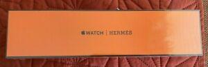 Apple Watch Hermès Hermes Series 6 40mm Space Black Noir Double Tour Sealed