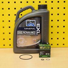 Yamaha TDM 900 alle Mod. 02-12 4L Öl + Ölfilter Bel Ray 10w40 Motoröl A ABS
