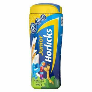 Health & Nutrition Drink -Junior Horlicks (500g, Vanilla Flavour) For 2-6 years
