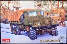 KRAZ 255 B TRUCK (SOVIET HUNGARIAN EAST GERMAN & CZECHOSLOVAK MKGS) 1/35 RODEN