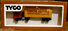 Vintage TYCO 903-3 Union Pacific Trailer Freight Service Container & Cab HO MINT