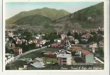 vecchia cartolina primo colore di canzo verso lago del segrino como