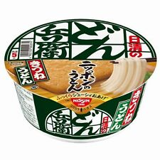 Japanese Noodle Nissin cup instant UDON with Kitune x 12 Japan New