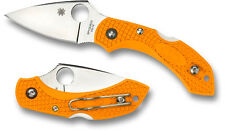 Spyderco Dragonfly2 Lightweight Orange FRN Plain Edge C28POR2