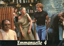 SEXY MYA NIGREN EMMANUELLE 4  1984 VINTAGE PHOTO LOBBY CARD N°5