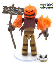 Nightmare Before Christmas Minimates Blind Bag Series 3 Glow/Dark Pumpkin King