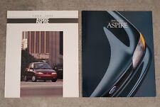 1994 & 1995 Ford Aspire Car Brochures